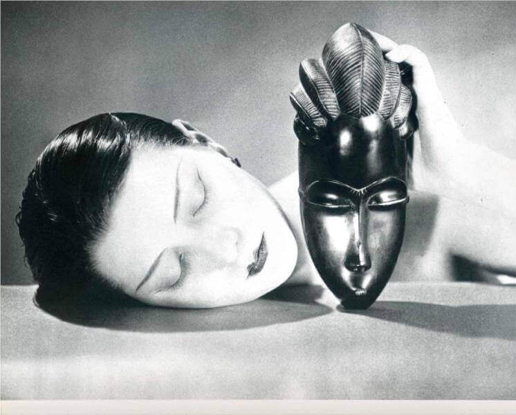 black and white 1926 by man ray
